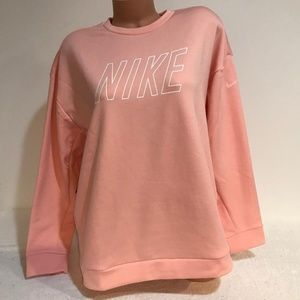 Nike Women's LARGE Therma Pullover Sweatshirt